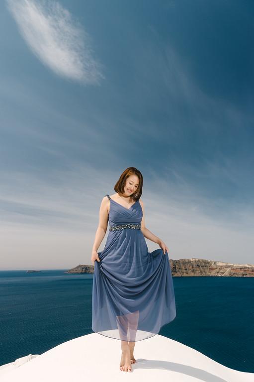 SANTORINIー11 - SANTORINI HONEYMOON - 白と青の絶景夢の島