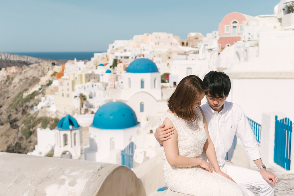 SANTORINIー7 - SANTORINI HONEYMOON - 白と青の絶景夢の島
