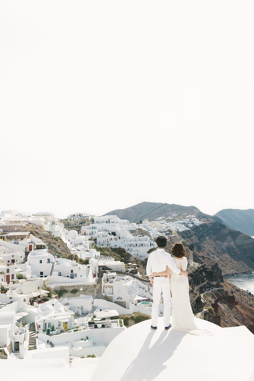 SANTORINIー8 - SANTORINI HONEYMOON - 白と青の絶景夢の島