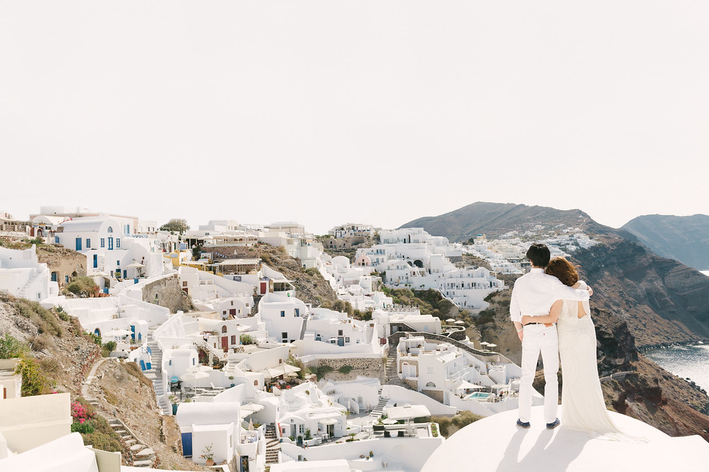 SANTORINIー9 - SANTORINI HONEYMOON - 白と青の絶景夢の島