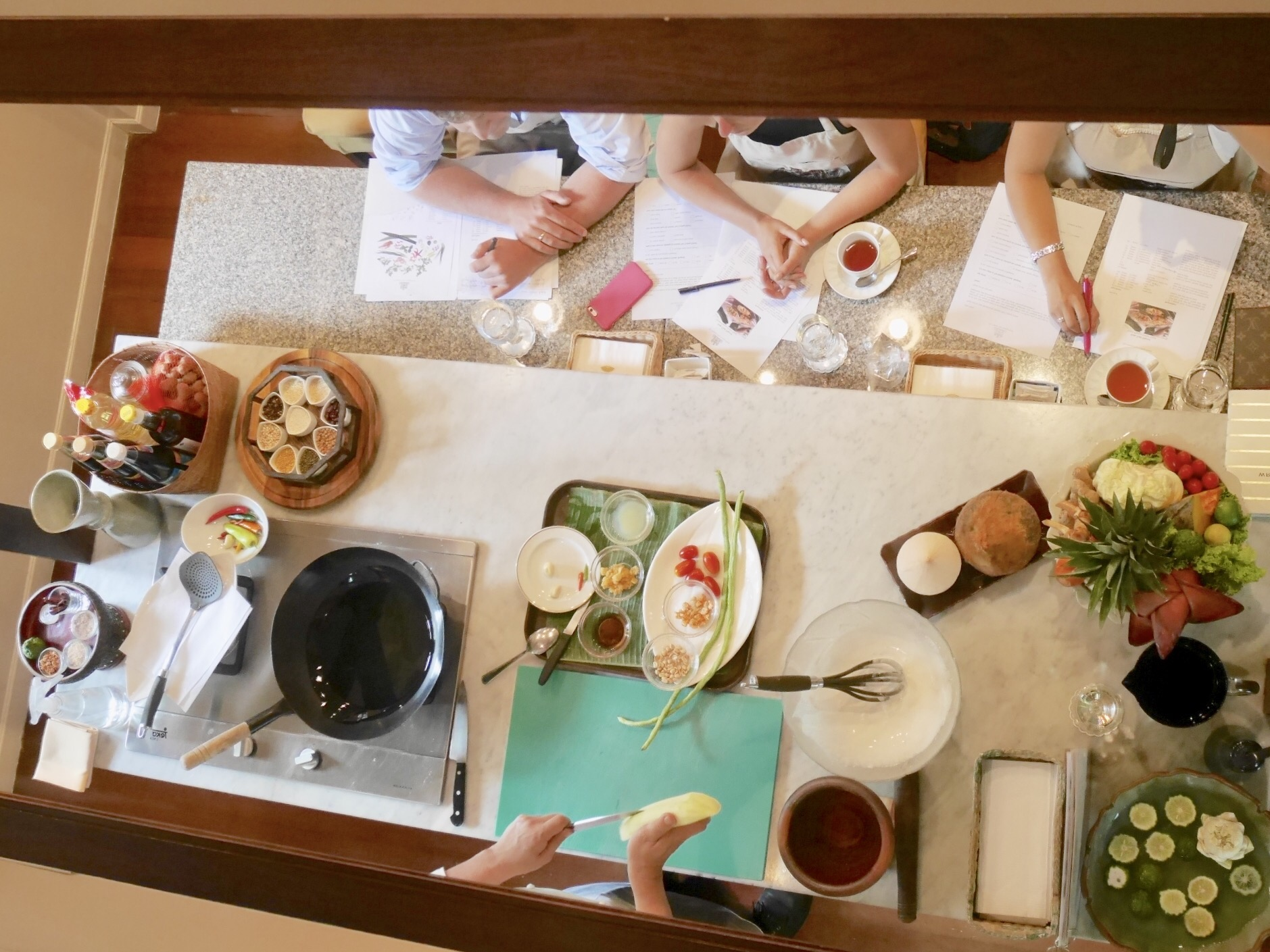img 9067 1 - The Oriental Thai Cooking School - マンダリンオリエンタルバンコクのおもてなし空間で体験する絶品タイ料理教室