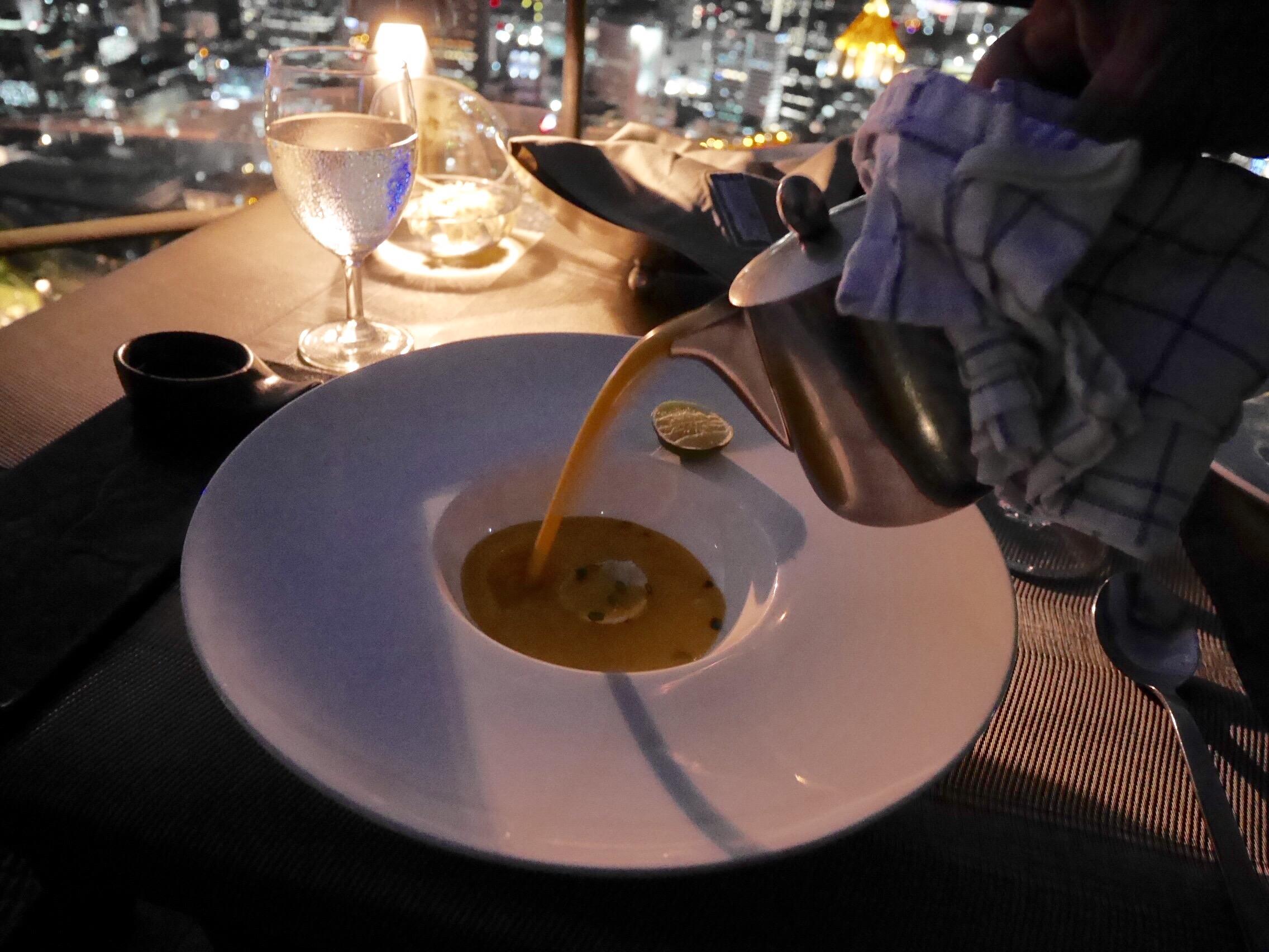 img 8298 - Banyan Tree Bangkok - 61階のルーフトップレストランVertigoで過ごす贅沢ディナータイム