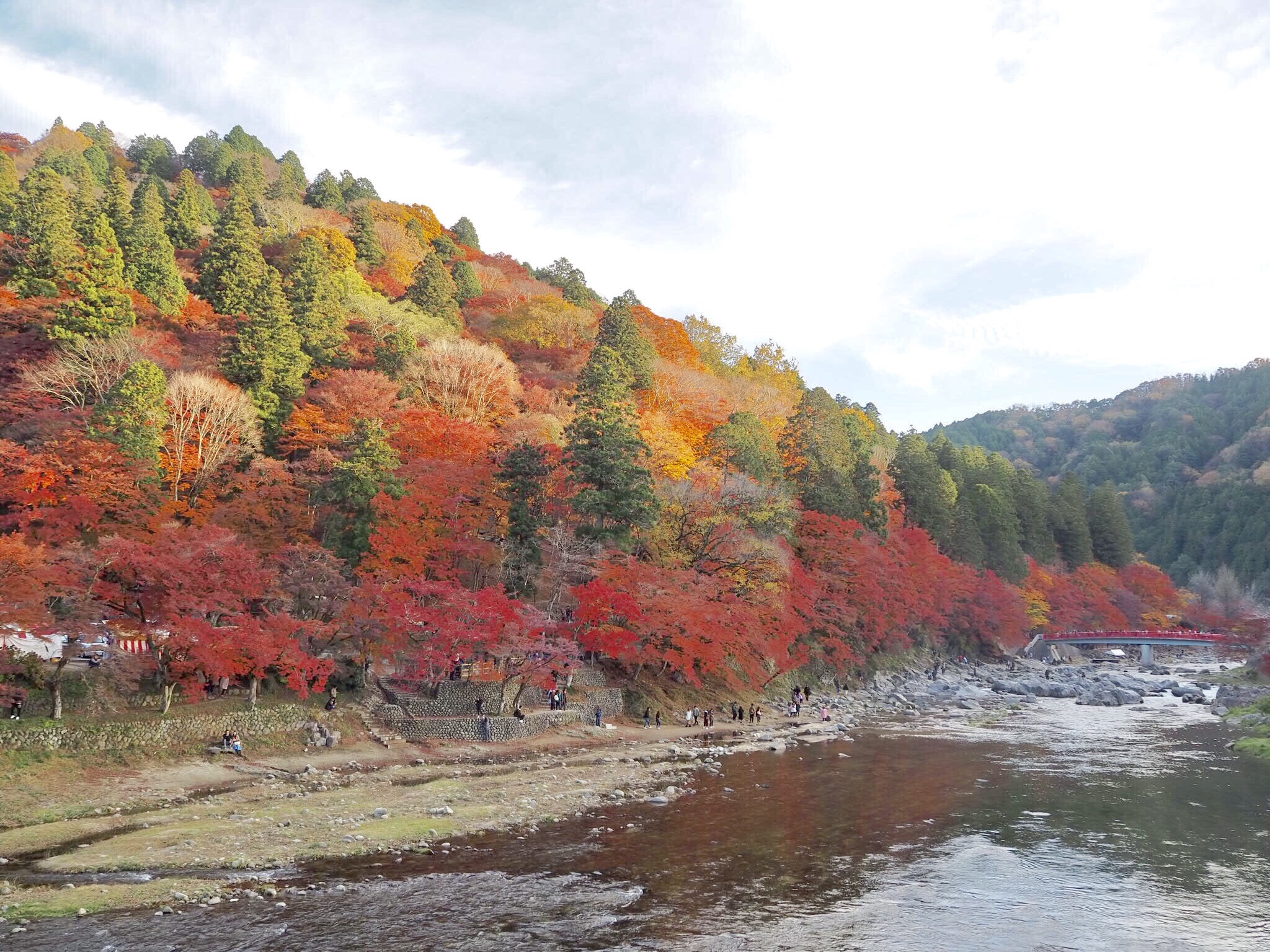 img 7433 - 香嵐渓 - 日本の秋を感じる 愛知県豊田市の紅葉スポット