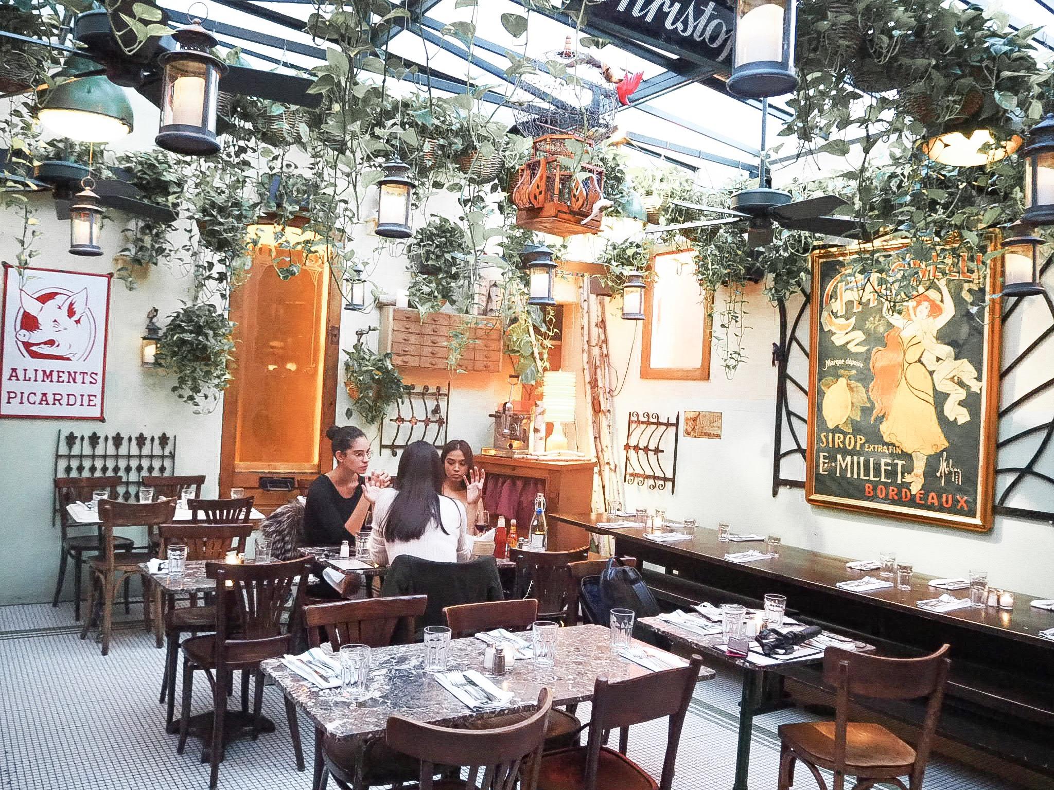 img 9135 - Juliette - NYブルックリンの一角 インドアガーデンの中で楽しむフレンチビストロ