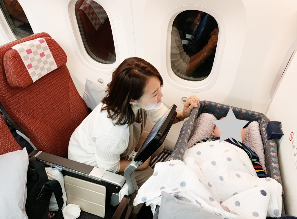 img 4598 1024x758 - Flight with baby boy - JALハワイ便 0歳4ヶ月のフライト
