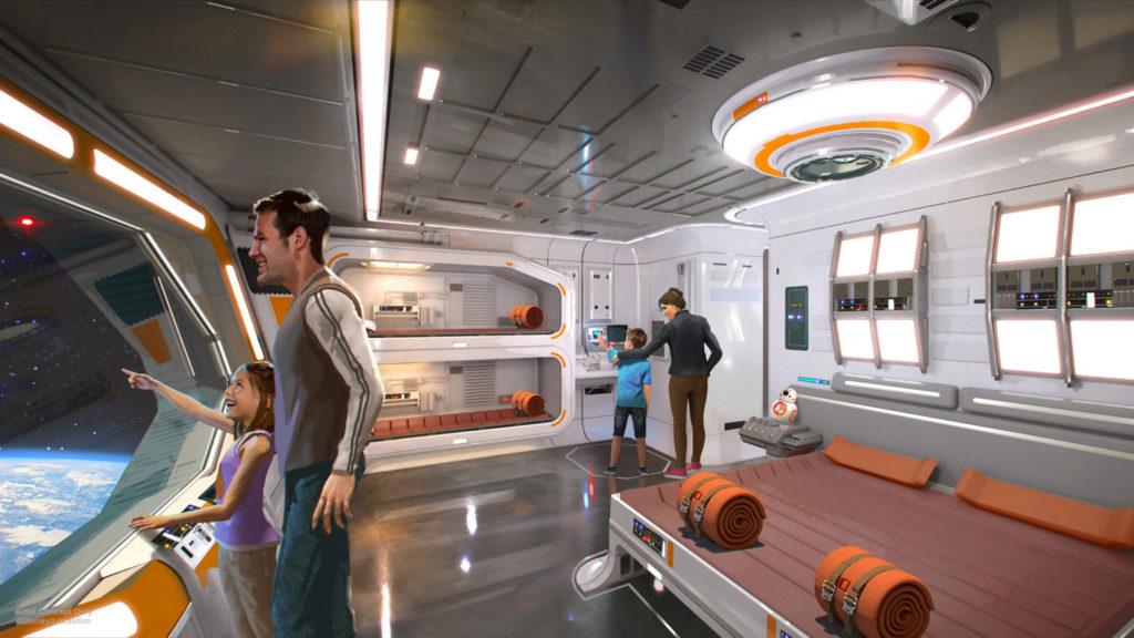 Image WDW Star Wars Themed Resort 1 1024x576 - STAR WARS GALAXY'S EDGE - 『スターウォーズ』の世界を体感!新テーマランド「ギャラクシーズ・エッジ」がカリフォルニア、フロリダにいよいよオープン!