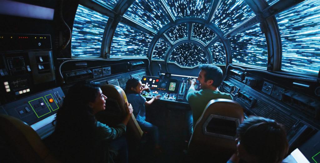 SWGE Millennium Falcon 1024x522 - STAR WARS GALAXY'S EDGE - 『スターウォーズ』の世界を体感!新テーマランド「ギャラクシーズ・エッジ」がカリフォルニア、フロリダにいよいよオープン!