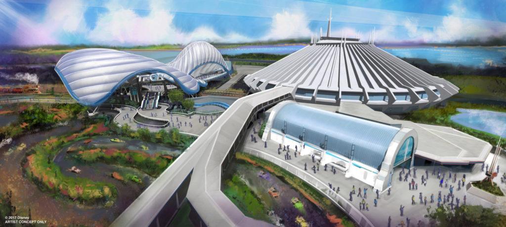 Tron at Magic Kingdom Park 1024x460 - STAR WARS GALAXY'S EDGE - 『スターウォーズ』の世界を体感!新テーマランド「ギャラクシーズ・エッジ」がカリフォルニア、フロリダにいよいよオープン!